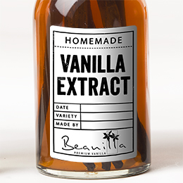 Vanilla Extract Labels