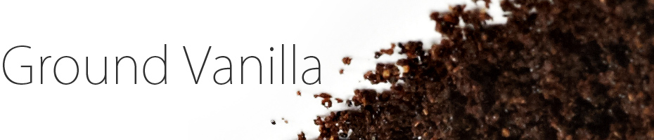 Ground Vanilla Beans