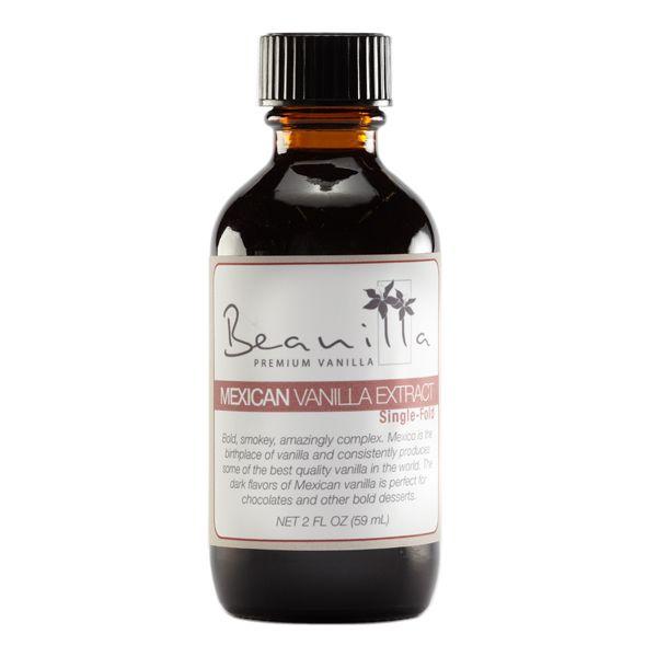 Pure Mexican Vanilla Extract (Single-Fold 1X)