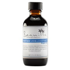 Tahitian Vanilla Extract (Single-Fold 1X)