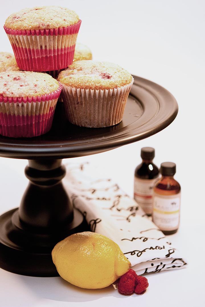 lemon raspberry extracts