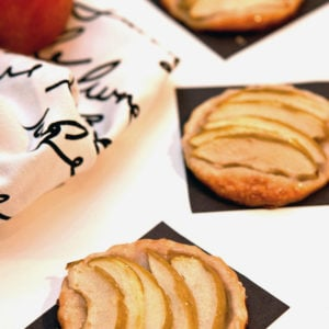 Almond-Vanilla Apple Tart