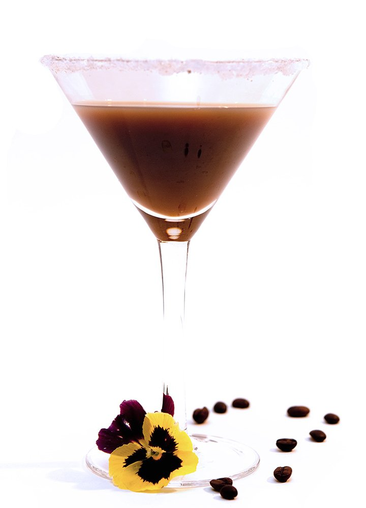 Vanilla Whipped Coffee Martini