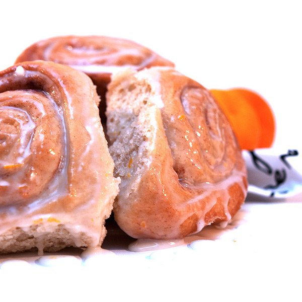 orange ginger rolls