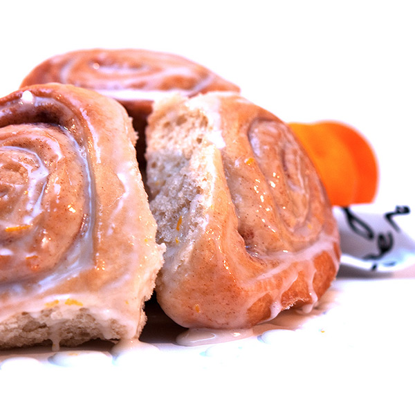 orange ginger rolls