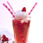 Almond-Raspberry Italian and French Soda