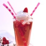 Almond-Raspberry Italian and French Soda
