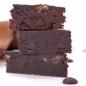 Chocolate Peanut Butter Ganache Brownies