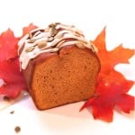 Pumpkin Bread with Maple Syrup Glaze