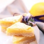Lavender Lemon Bars