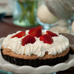 Hot Chocolate Mousse Tart