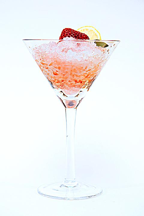 strawberry lemon snow cone