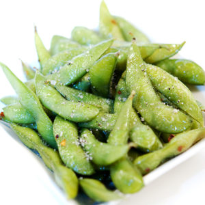 Spicy Vanilla Edamame