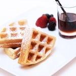 Vanilla Almond Belgium Waffles