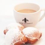 Café Au Lait Glazed Beignets
