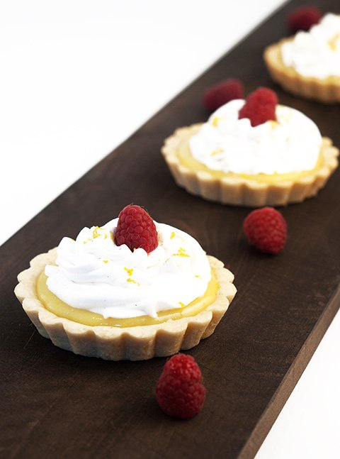lemon cream tarts