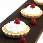 Meyer Lemon Cream Tart