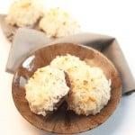 Chocolate Cherry Coconut Macaroons