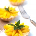Fresh Mango Mini Tarts
