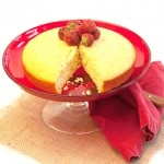 Saffron Almond Cake
