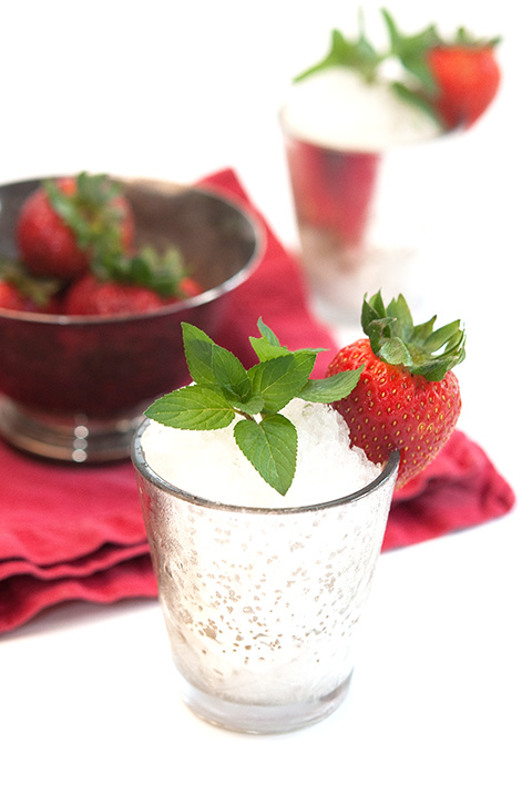 mint julep strawberry