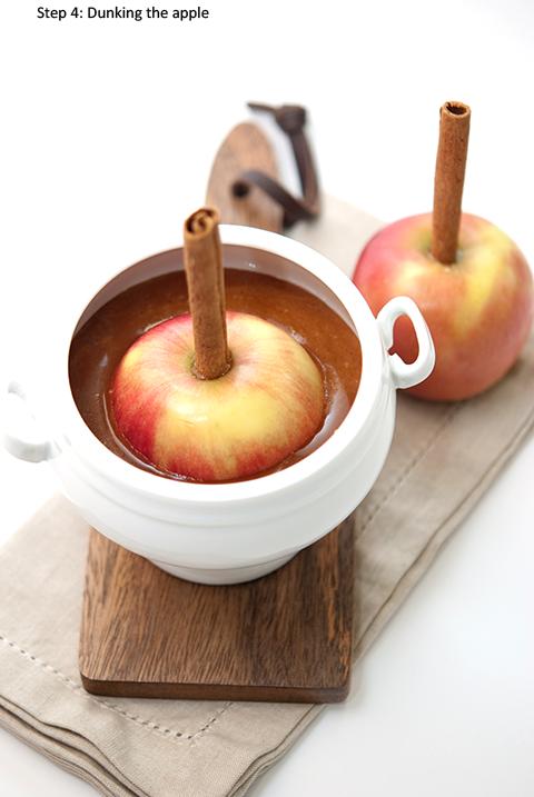 vanilla caramel apple step 4