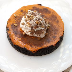 Pumpkin Pie Chocolate Tarts