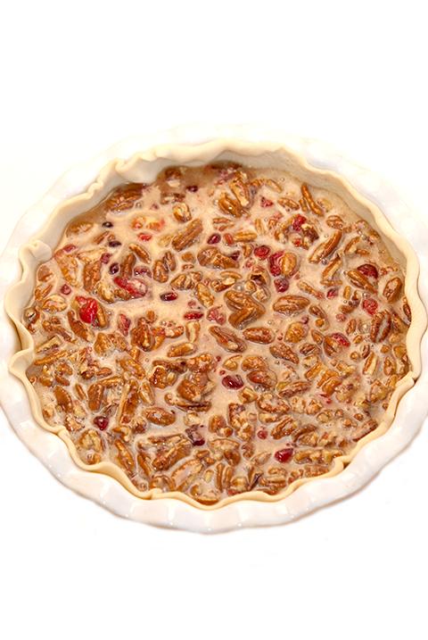 Pecan Cranberry Pie Step 5