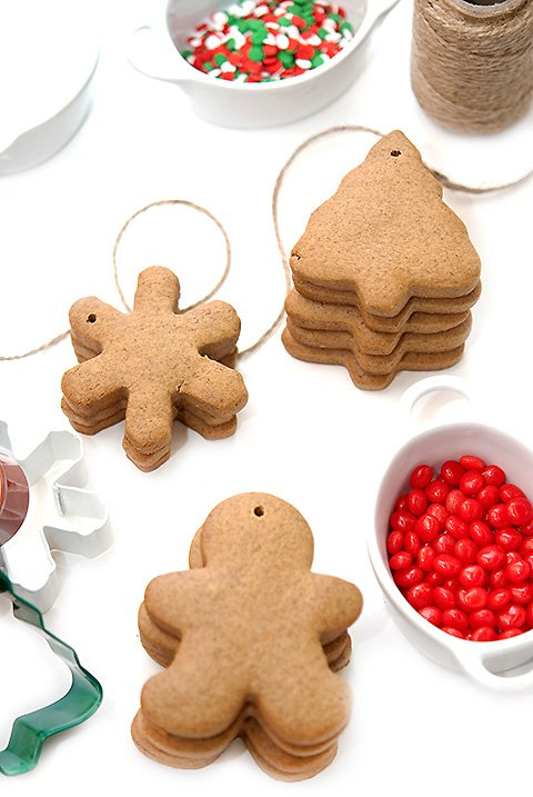 How To Make Gingerbread Ornaments