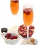 Vanilla Pomegranate Sparkling Cocktail