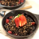 Berry Chocolate Crisp