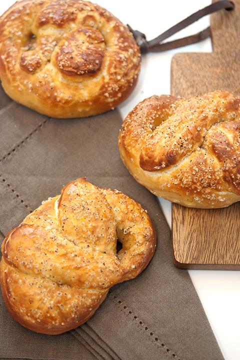 pretzel recipe vanilla fleur de sel