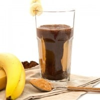 Protein Shake Recipe: Chocolate Peanut Butter Banana