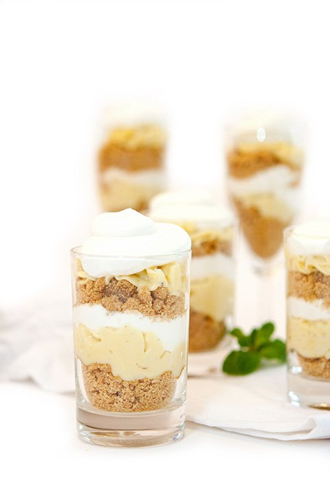 key lime mini parfait