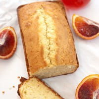 Blood Orange Vanilla Pound Cake