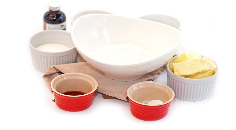 vanilla pound cake ingredients