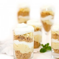 Key Lime Pie Mini Parfaits