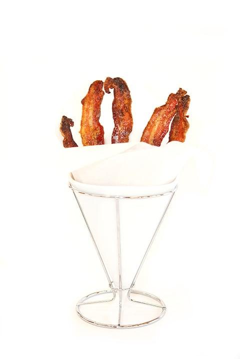 candied vanilla bacon recipe