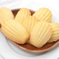Coconut Madeleine Cookies