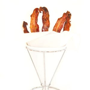 Candied Vanilla Bacon