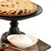 Vanilla Bean Plum Tart