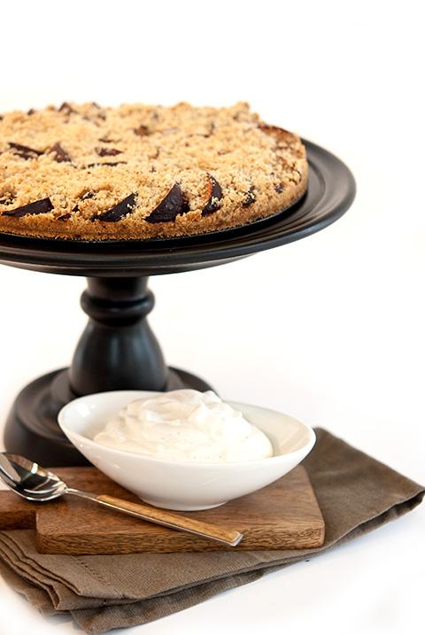 Vanilla Bean Plum Tarts