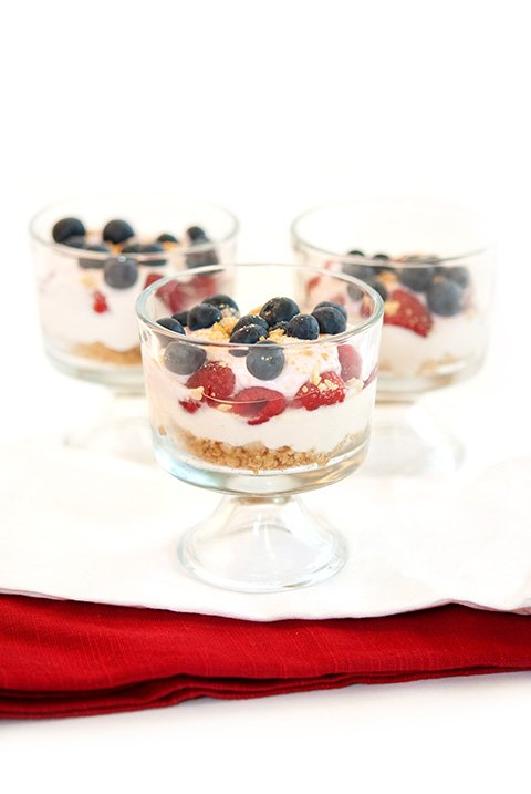No-Bake CheeseCake Parfaits