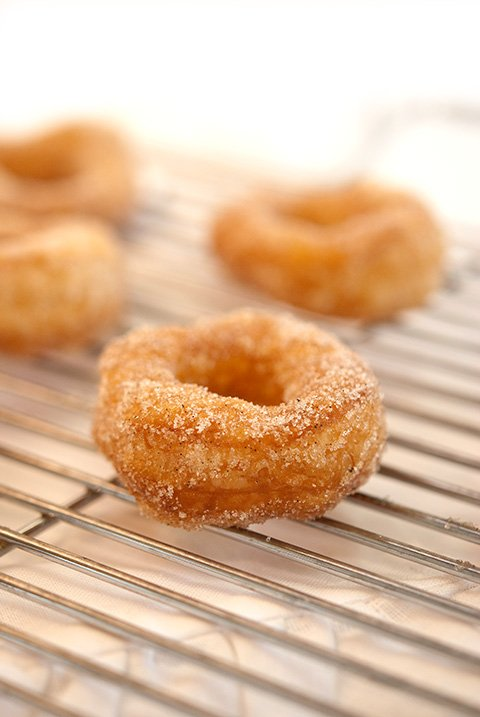 Homemade Donut Recipe Vanilla Sugar Donuts