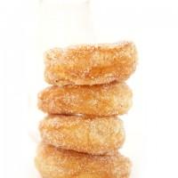 Homemade Donut Recipe: Vanilla Bean Sugar Donuts