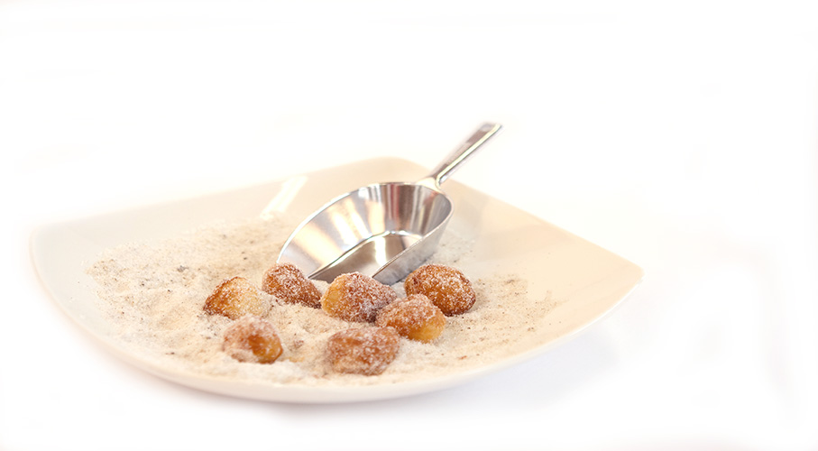 vanilla bean sugar donuts