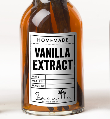 Homemade Vanilla Extract Labels (Printable)
