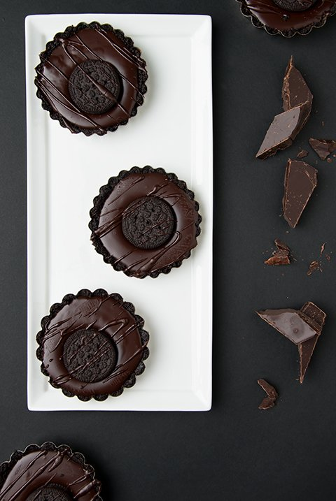 Chocolate Cookie Ganache Tart
