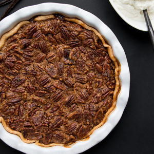 Spiced Pecan Pie