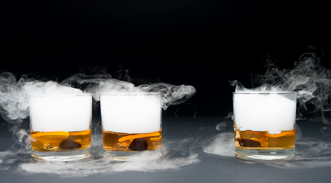 vanilla infused old fashioned bourbon